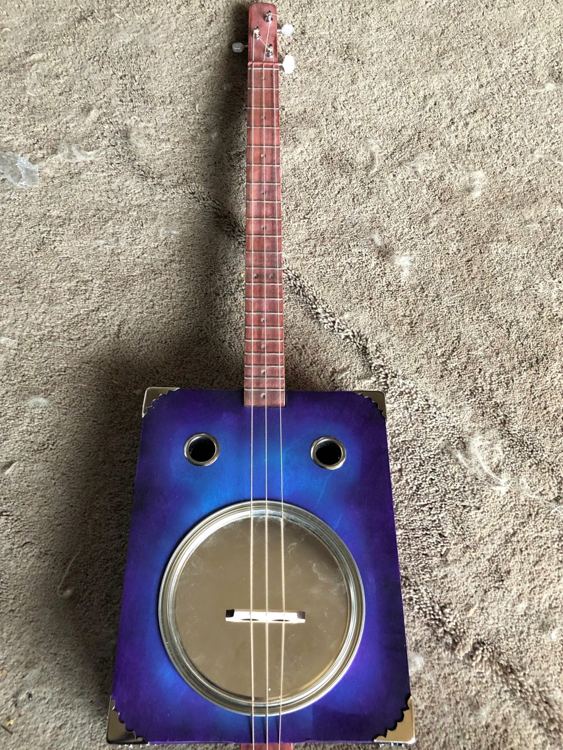 Mark C. C.'s custom Tin Pan Alley guitar