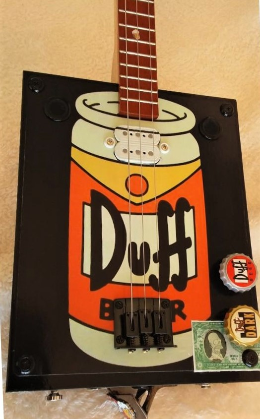 Duff beer guitar by Jim S. top