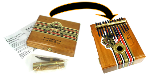 C. B. Gitty Cigar Box Thumb Piano Kit