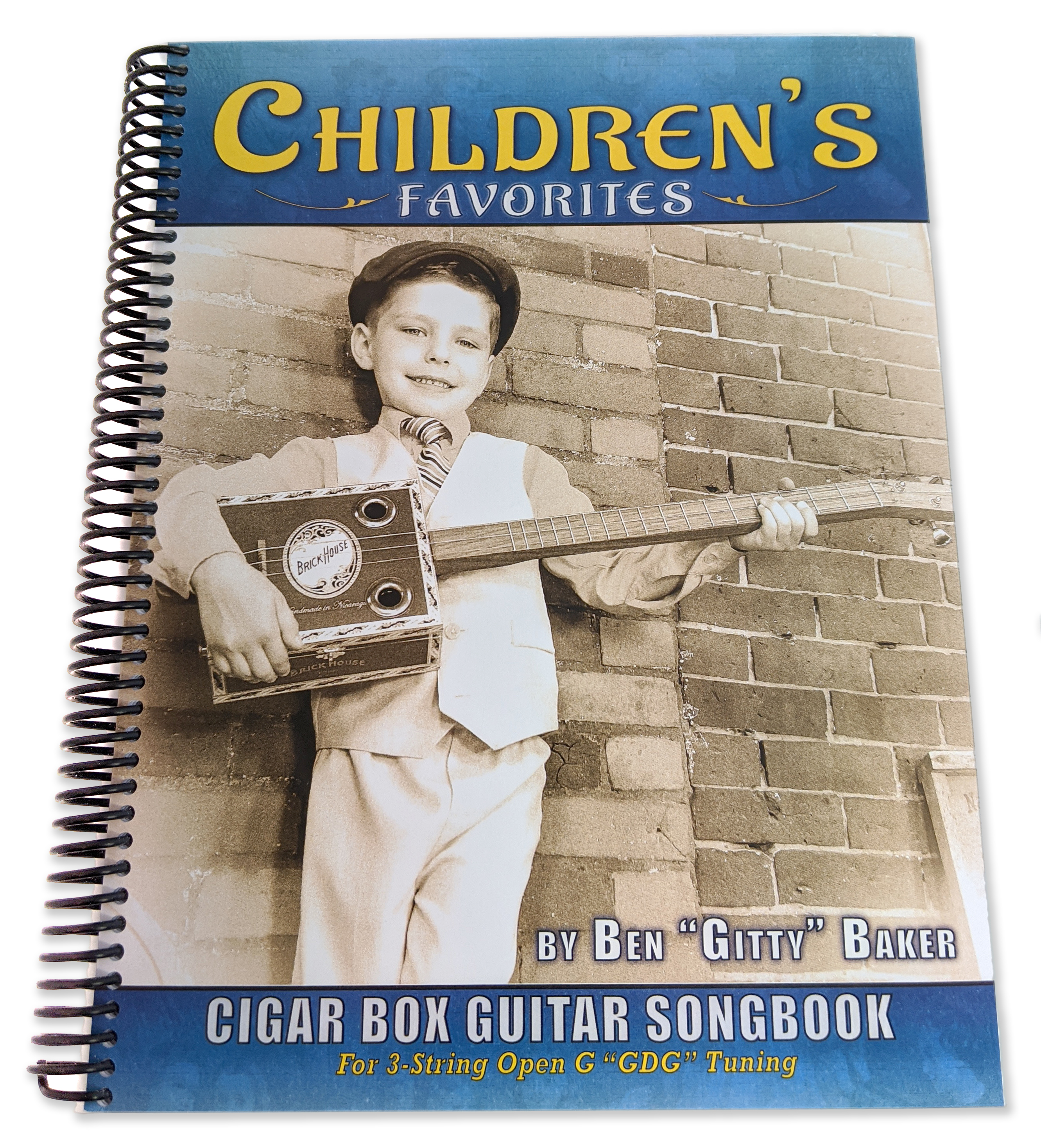 Children's Favorites Cigar Box Guitar Songbook