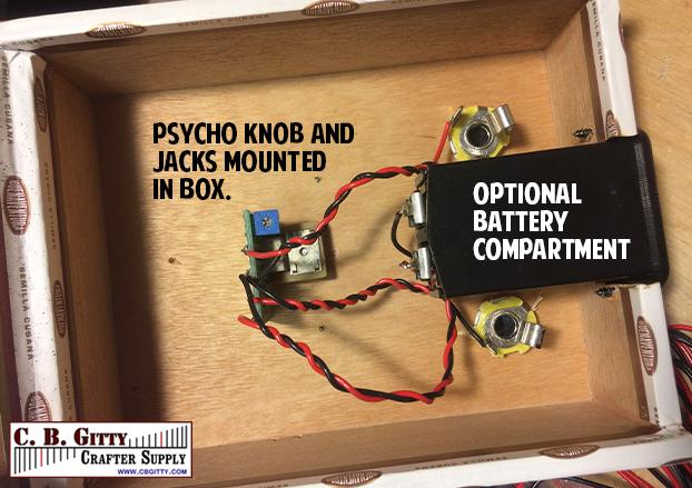 Awesome Build A Cigar Box Distortion Unit With This Easy Hack C B Gitty Wiring Digital Resources Caliashwinbiharinl