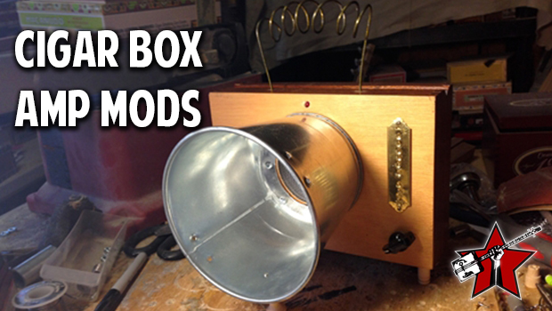 Cool Mods for C. B. Gitty Cigar Box Amps!