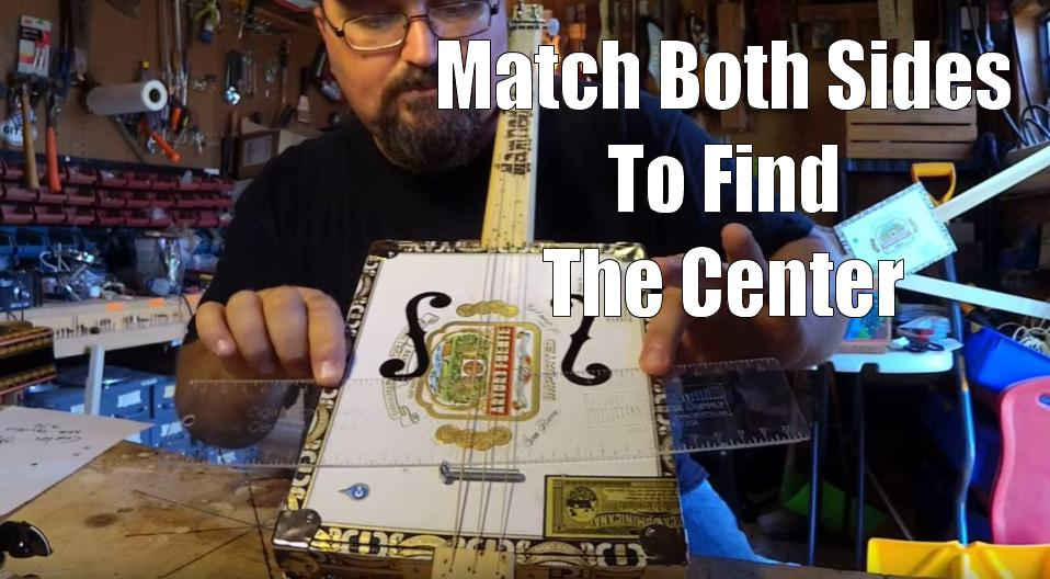 Shane Speal describes how to use a C. B. Gitty centering ruler