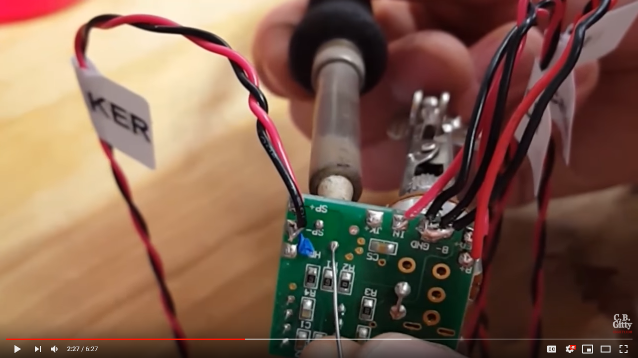 Optional: Re-apply solder to installation points