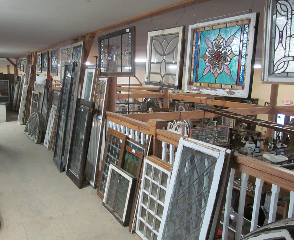 Gitty 39 s bench notes some thoughts on reclaimed materials for Window and door companies near me